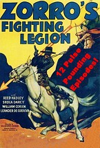 Zorros Fighting Legion Movie Serials Cliffhangers Available On Dvd